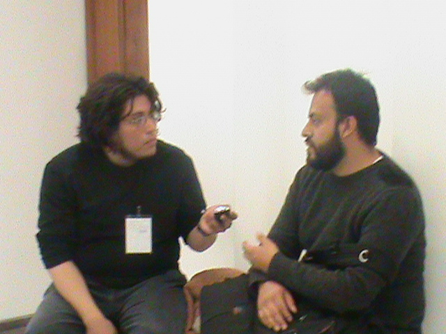 Entrevista a Edgardo Aragón - tomada por Lizbeth Cervantes Neri