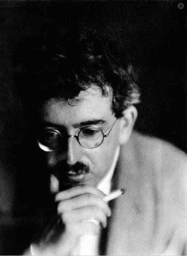 Walter Benjamin - tomada por Germaine Krull