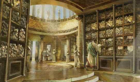 Biblioteca de Alejandría - Imagen pública