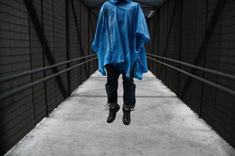 Simulacro - Fotografía de Sebastián Pérez Rivera