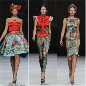 Pasarela de moda-Imagen Pública