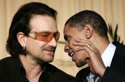 Bono y Obama - Imagen pública