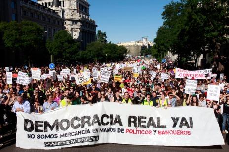 Manifestacion Democracia Real Ya - Imagen pública