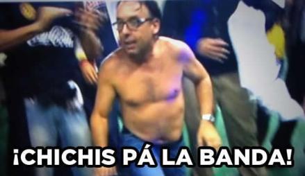 Chichis pá la banda - Imagen pública