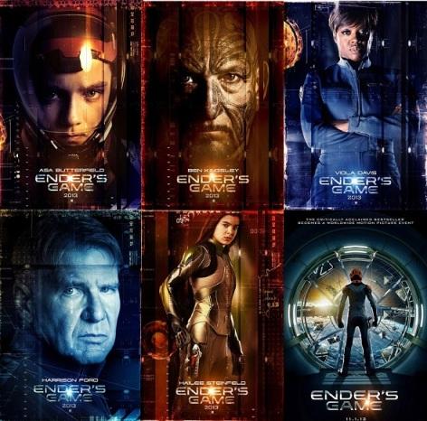 El Juego de Ender - Imagen pública