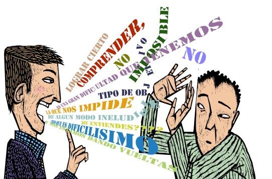 Comunicación fallida - Imagen pública