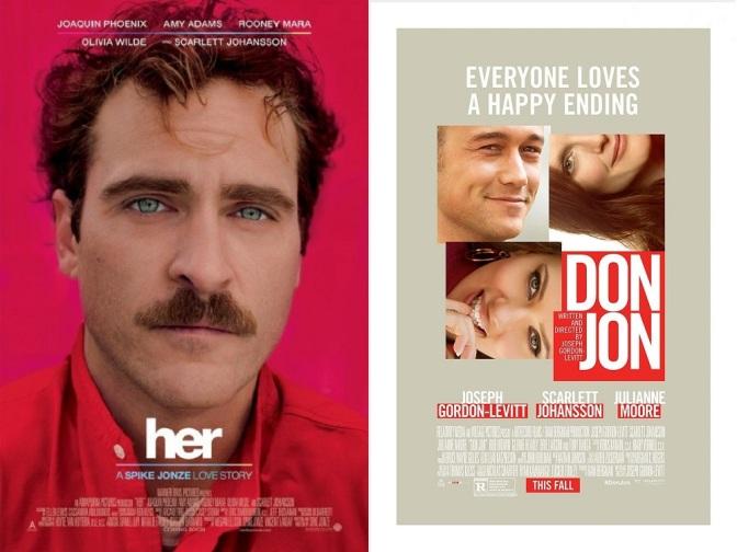 Comedias románticas al 2×1: Don Jon y Her