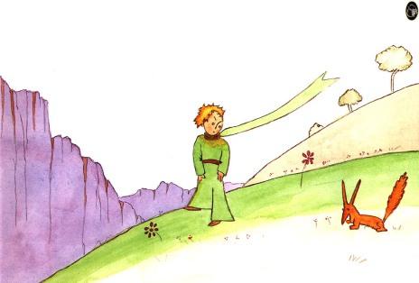 El Principito y el zorro - Imagen pública
