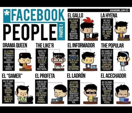 Usuarios de Facebook  Imagen pública