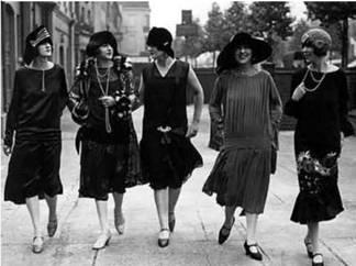 Mujeres de 1920 - Imagen pública