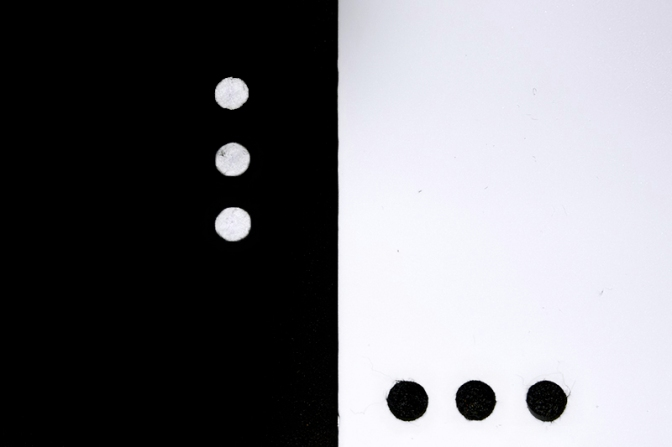Tres signos de puntuación