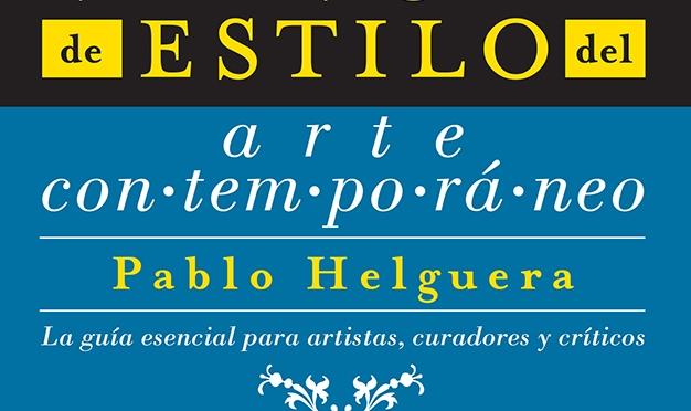 Manual de estilo del arte contemporáneo - Portada