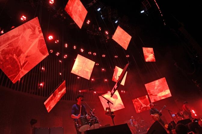 Radiohead en concierto - Imagen pública