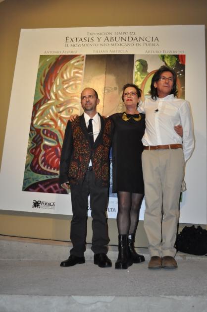 Antonio Álvarez Morán, Liliana Amezcua y Arturo Elizondo - Fotografía por Jessica Tirado