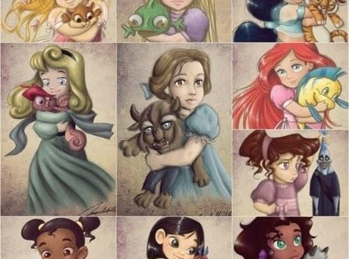 Princesas - Imagen pública