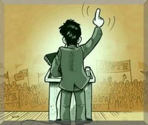 Demagogia - Imagen pública