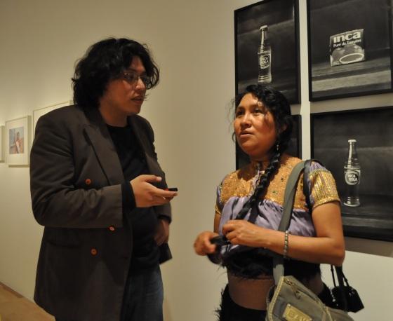 Maruch Sántiz Gómez y José Luis Dávila - Fotografía por Jessica Tirado Camacho