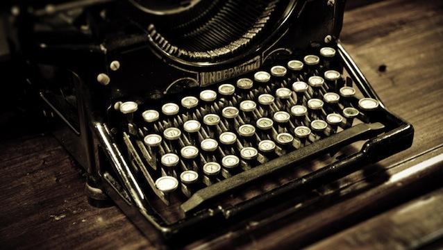 Máquina de escribir - Imagen pública