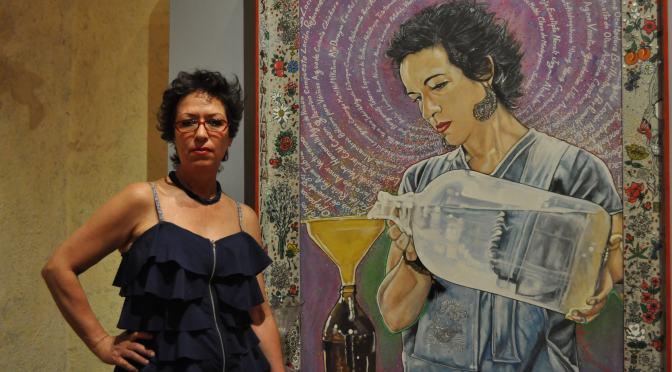 El arte es una casa: sobre una tarde con Liliana Amezcua