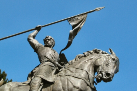Estatua del Cid - Imagen Pública