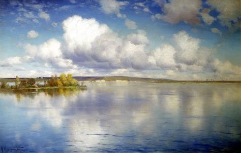 El lago - Konstantin Yakovlevich Kryzhitsky