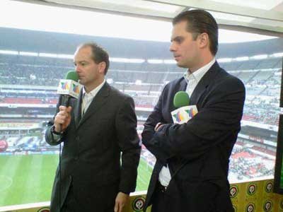Luis García y Christian Martinolli - Imagen pública
