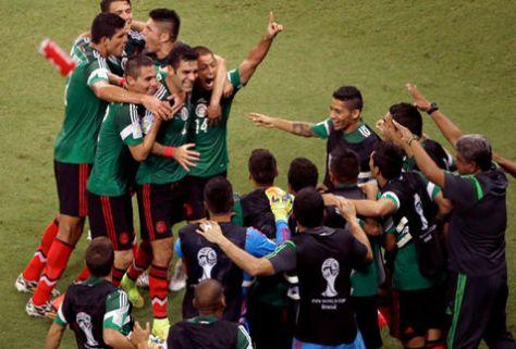 México vs. Croacia - Imagen pública