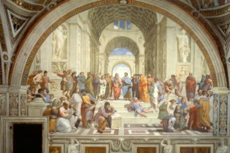 Escuela de Atenas - Rafael