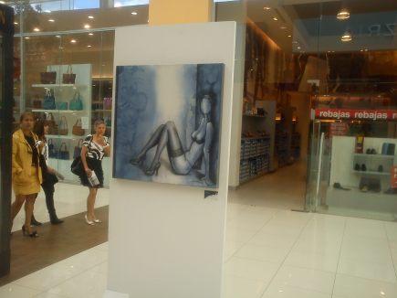 Exposición de Adriana Chávez - Foto para Cinco Centros