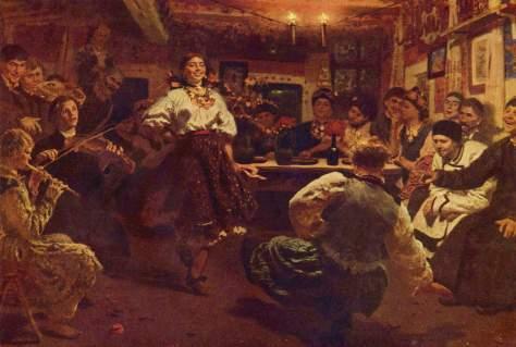 La velada (1880). Ilyá Repin