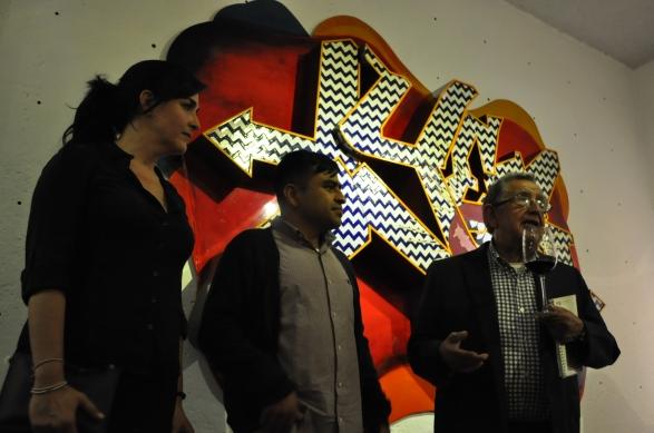 Nora Adame, Alejandro Osorio, José Lazcarro - Fotografía por Jessica Tirado