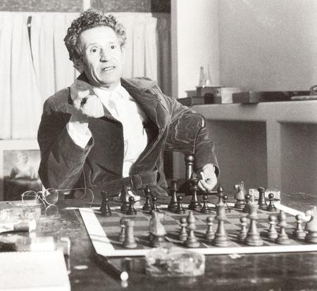 Juan José Arreola en 1973, foto de Kati-Horna