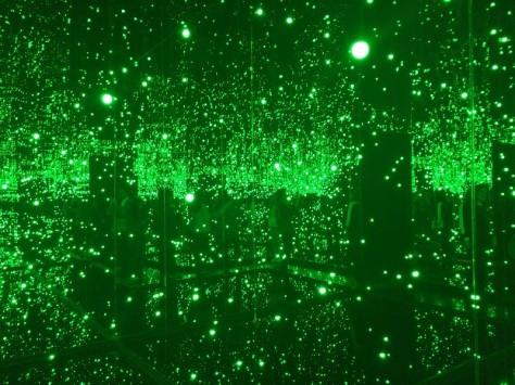 Infinity Mirror Room-Filled with the Brillance of Life