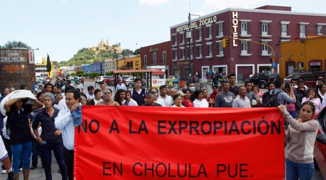 Despojo y ciudadanía: Cholula en resistencia
