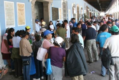 Protesta en Cholula - Imagen Pública