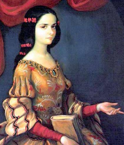 Retrato de Juana Inés de Asbaje y Ramírez de Santillana
