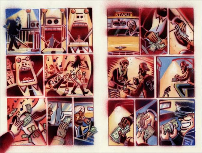 Un retrato del mundo que vivimos: El Sistema, de Peter Kuper
