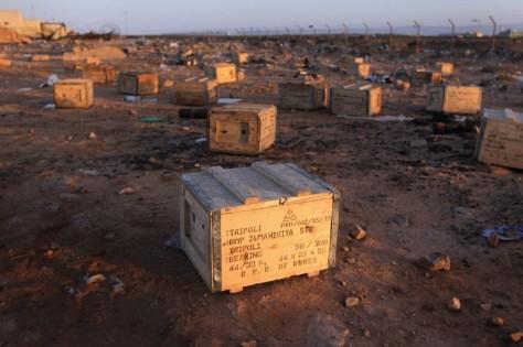 LIBIA CAJAS ARMAMENTO NORCOREANO