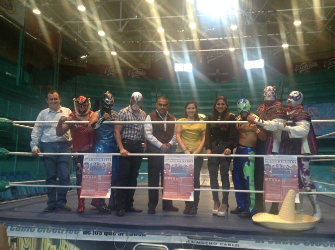 Deporte y cultura: concurso de cuento de lucha libre