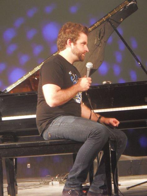Taylor Eigsti en el Auditorio de la Reforma