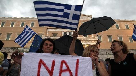Manifestación por referéndum - Imagen pública