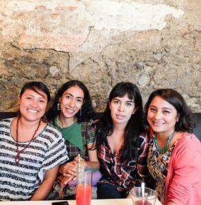 Colectivo Convivencia en Letras - Fotografía de Georgina Moctezuma