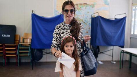 Referéndum en Grecia - Imagen pública