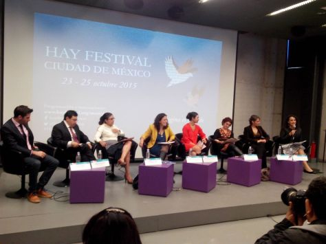 Rueda de prensa del Hay Festival