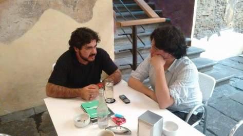 Gabriel Wolfson y José Luis Dávila - Fotografía por Gerson Tovar