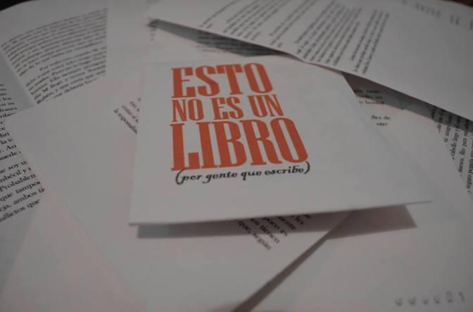 Dossier: Esto no es un libro, No. 1, Diciembre 2015 – Enero 2016