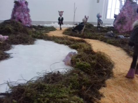 Magieland - Instalación de Magie Naïf en Galería Liliput