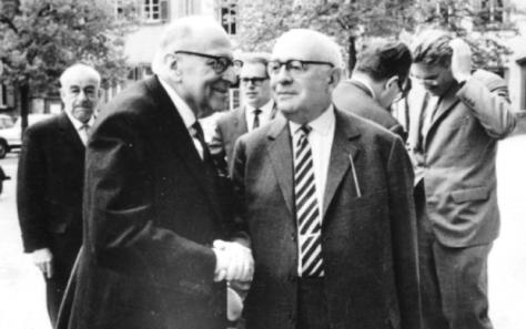 Adorno y Horkheimer - Imagen pública