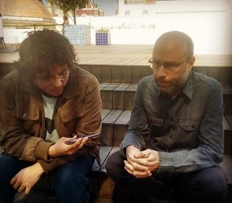 Ilán Lieberman y José Luis Dávila - Fotografía por Gerson Tovar