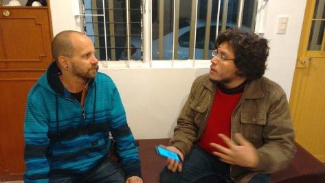 Timo Saarelma y José Luis Dávila - Fotografía por Gerson Tovar Carreón